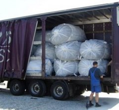 Bulk Bags Delivered in Truck